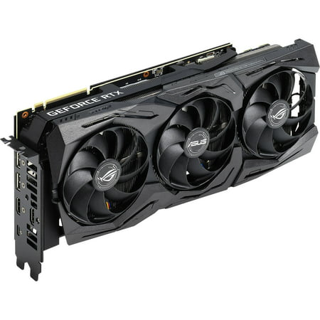 ASUS ROG Strix GeForce RTX 2080 Advanced Overclocked 8G GDDR6 HDMI DP 1.4 USB Type-C Gaming Graphics Card (ROG-STRIX-RTX-2080-A8G) - plus free Wolfenstein: Youngblood Game