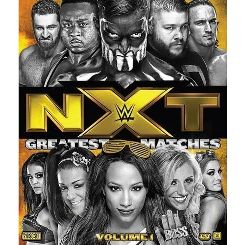 WWE: NXT's Greatest Matches, Volume 1 (Blu-ray)