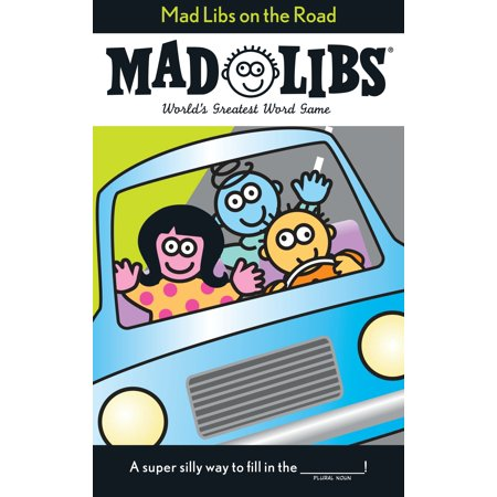 Mad Libs on the Road - Bridal Mad Libs