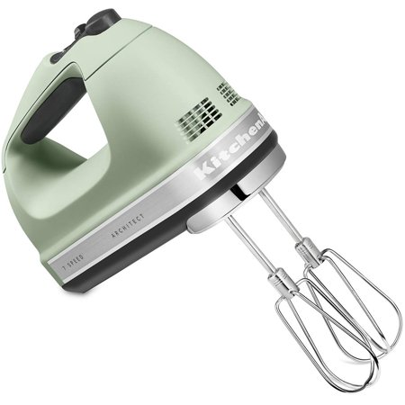 KitchenAid 7-Speed Hand Mixer with Turbo Beater - Matte Pistachio