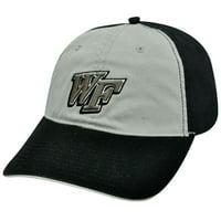 NCAA WAKE FOREST DEMON DEACONS BLACK COTTON HAT CAP