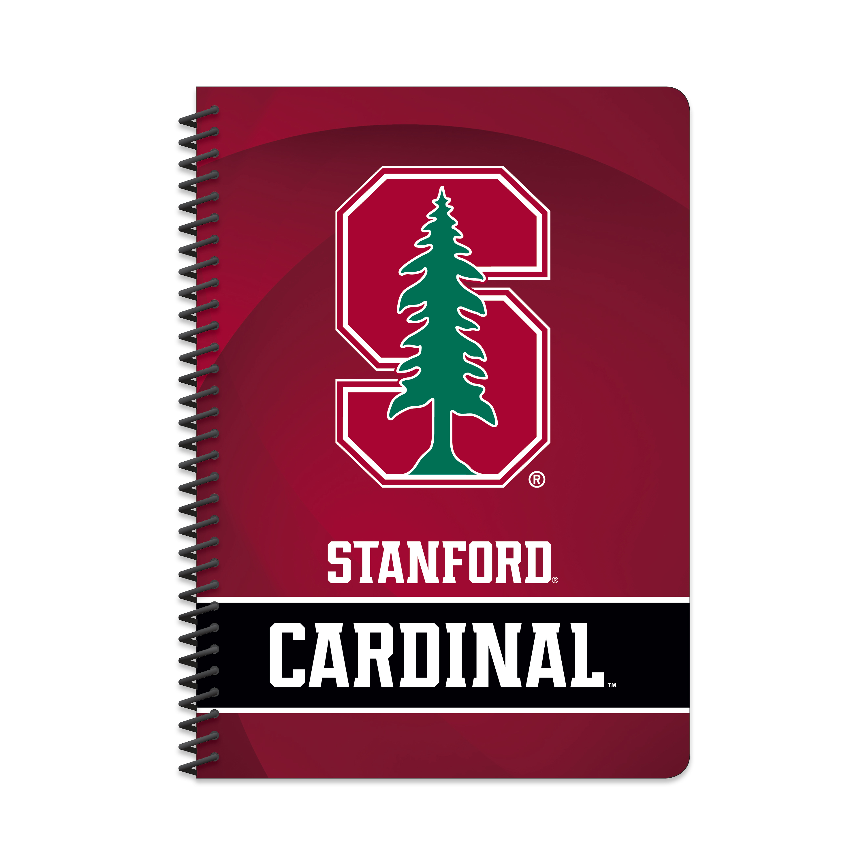 "NCAA Stanford Cardinals Spiral Notebook, 5"" by 7"", 80 Sheets, College Rule"