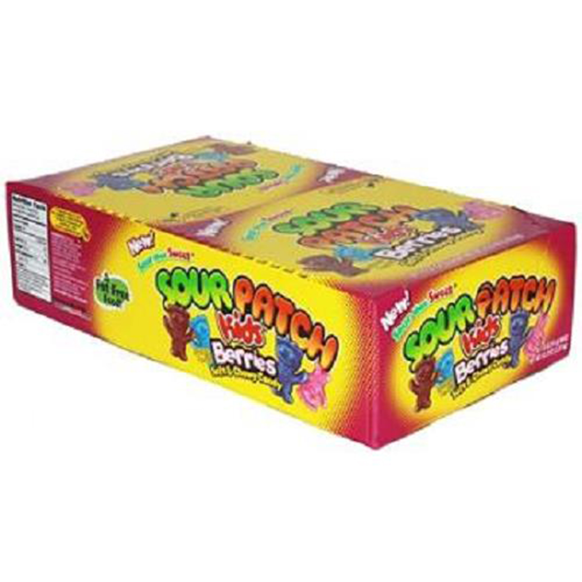 Product Of Sour Patch, Kids - Berries, Count 24 (1.8 oz) - Sugar Candy / Grab Varieties & Flavors