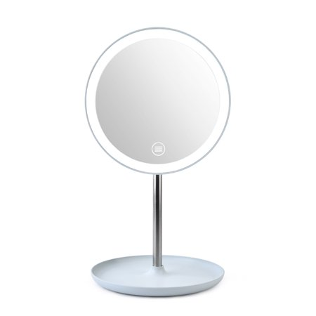 Makeup Mirror.Fashion Led Light Makeup Mirror Table Lamp 360 Rotation Brightness Adjustable Beauty Cosmetic Mirror Walmart Canada