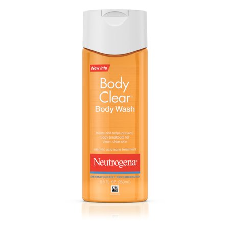 Neutrogena Body Clear Acne Body Wash with Glycerin, 8.5 fl.