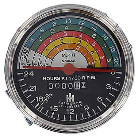 363829R91 New Tachometer Made for Case-IH International Tractor Models 300 350 ()