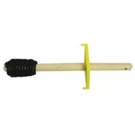 magnolia brush 455-4-dope 2 in. taper both ends wood handle dope brush with guard 2' Wood Handle Chip Brush