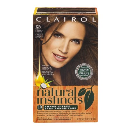 clairol natural instincts ammonia free 12a light caramel. Black Bedroom Furniture Sets. Home Design Ideas