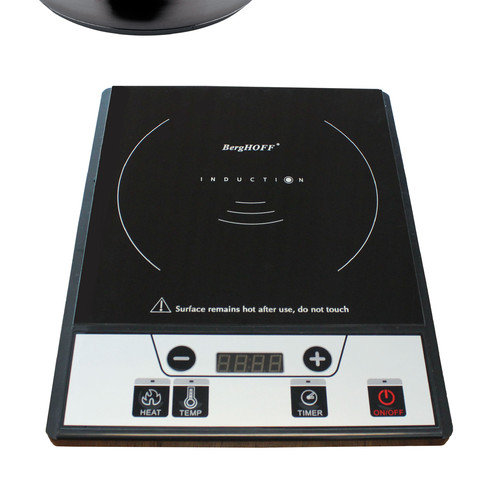 BergHOFF International Tronic 14'' Electric Induction Cooktop with 1 Burner
