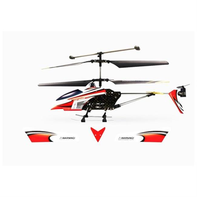 Microgear EC10338-Red 2.4Ghz Technology Rc Fx-607 Helicopter 3.5Ch With Gyro Charge Via Usb - Red