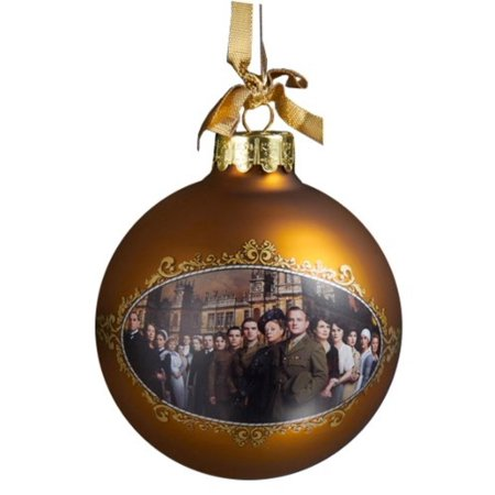 Season Two Ball Ornament, 90mm, Officially licensed Downtown Abbey holiday merchandise By Downton Abbey