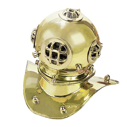 EC World Imports Replica Desktop U.S. Navy Mark-V Diving Helmet by ecWorld