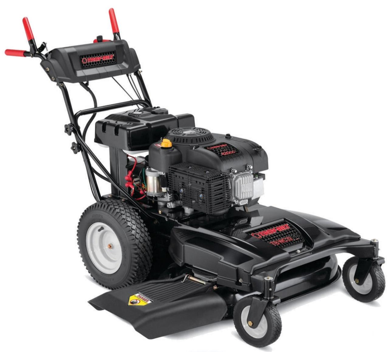 Troy-Bilt 12AE76JU011 Lawn Mower, 33 in W x 1-1 4 to 3-3 4 in H Cutting, 420 cc, 8 qt Gas by MTD Products