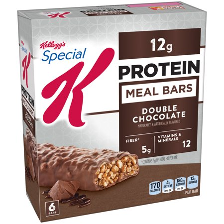 Special K Protein Double Chocolate Meal Bars - 6ct- Kelloggs