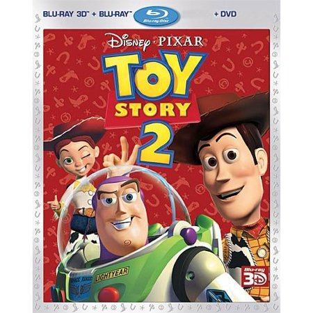 Toy Story 2 (3D Blu-ray + Blu-ray + DVD) (Widescreen)