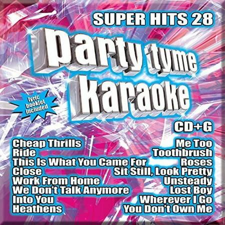 Party Tyme Karaoke  Super Hits  Vol  28