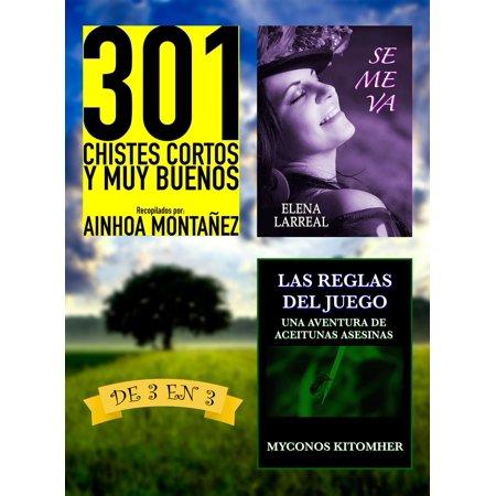 301 Chistes Cortos y Muy Buenos + Se me va + Las Reglas del Juego. De 3 en 3 - eBook](Juegos De Halloween Y Terror)