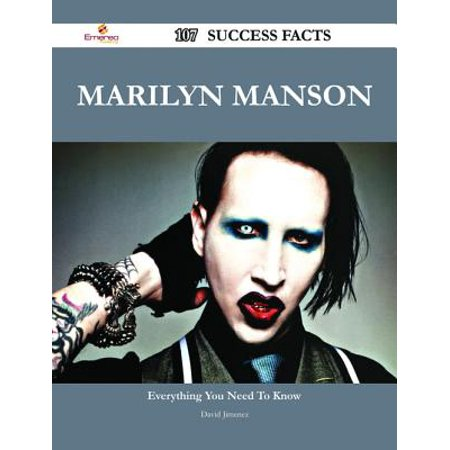 Marilyn Manson 107 Success Facts - Everything you need to know about Marilyn Manson - eBook](This Halloween Marilyn Manson Mp3)