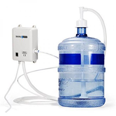 TOPMach Dispensing Pump System 115 Voltage Water Dispensing Pump 1 Gallon Bottle Water Dispensing Pump with 20ft PE Pipe ()