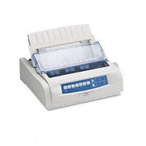 Okidata Microline 420n Printer - B/w - Dot-matrix - 570 Char/sec - 240 X 216 Dpi - 9 Pin