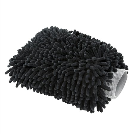 Chemical Guys MIC498 Black Microfiber Wash Mitt, 1 (Duck Wash Mitt)