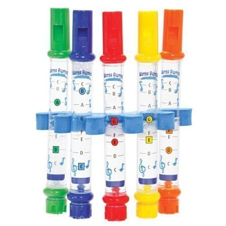 5 Holder Music Sheets Fun For Kids Bath Tub Tunes Sound Toy, Excellent entertainment for young children at bath time By Water Flutes
