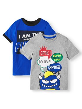 7776e854 Boys Tops & T-Shirts - Walmart.com