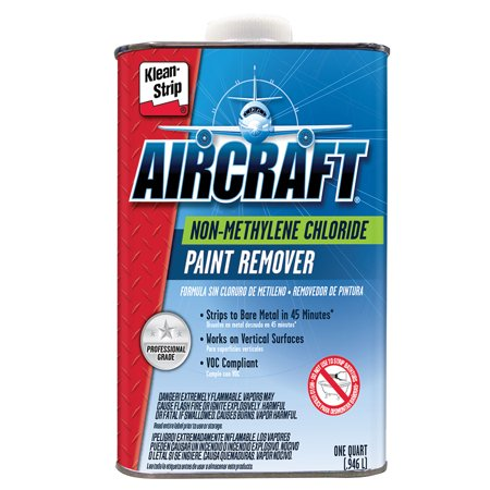Klean Strip (Klean Strip KLE-QAR2000 Aircraft Non-methylene Chloride Paint Remover - 1 Quart)