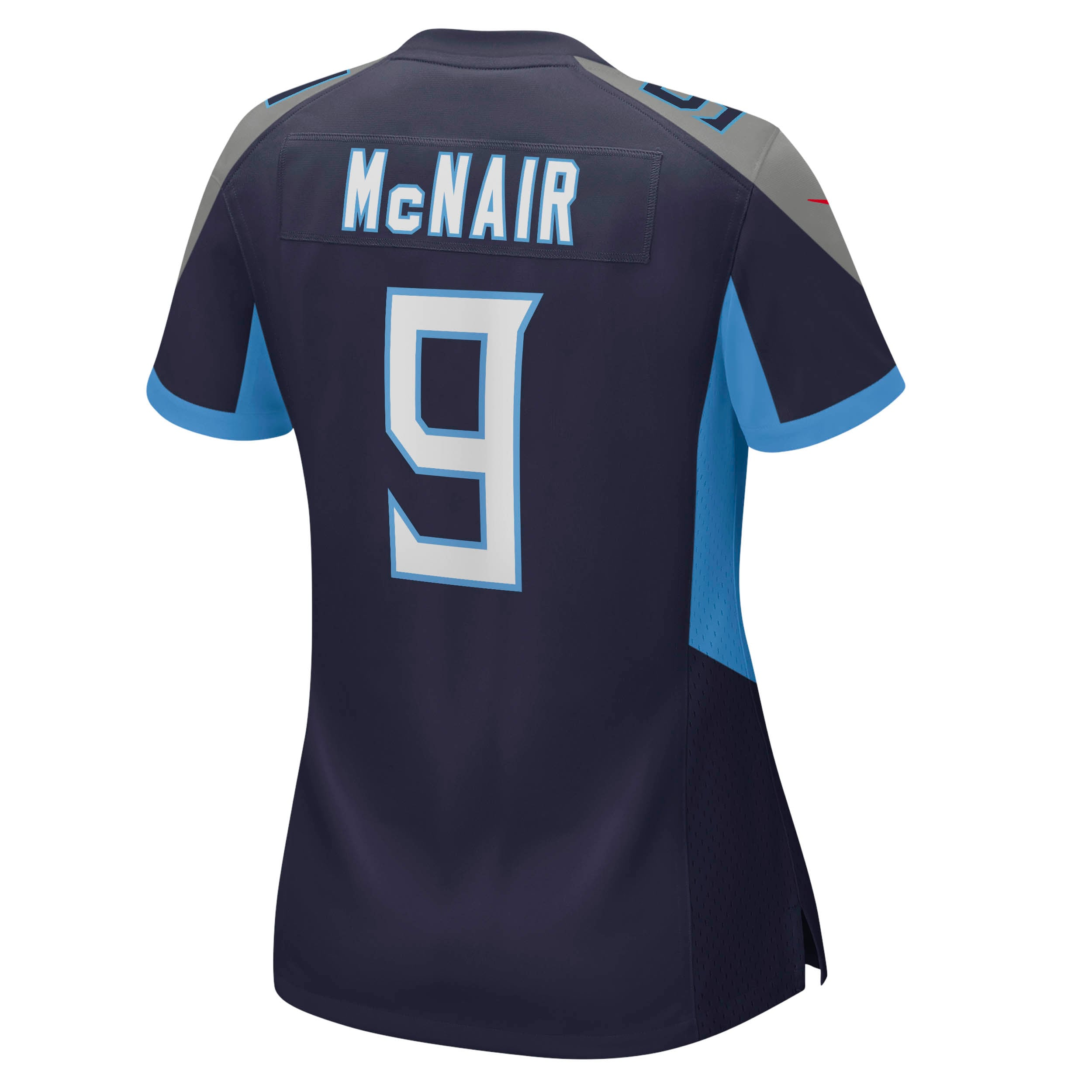 Steve McNair Tennessee Titans Nike Women's Game Retired Player Jersey - Navy