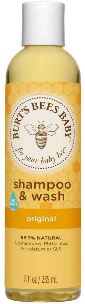 6 Pack Burt's Bees Baby Bee Original Shampoo & Wash 8 oz by