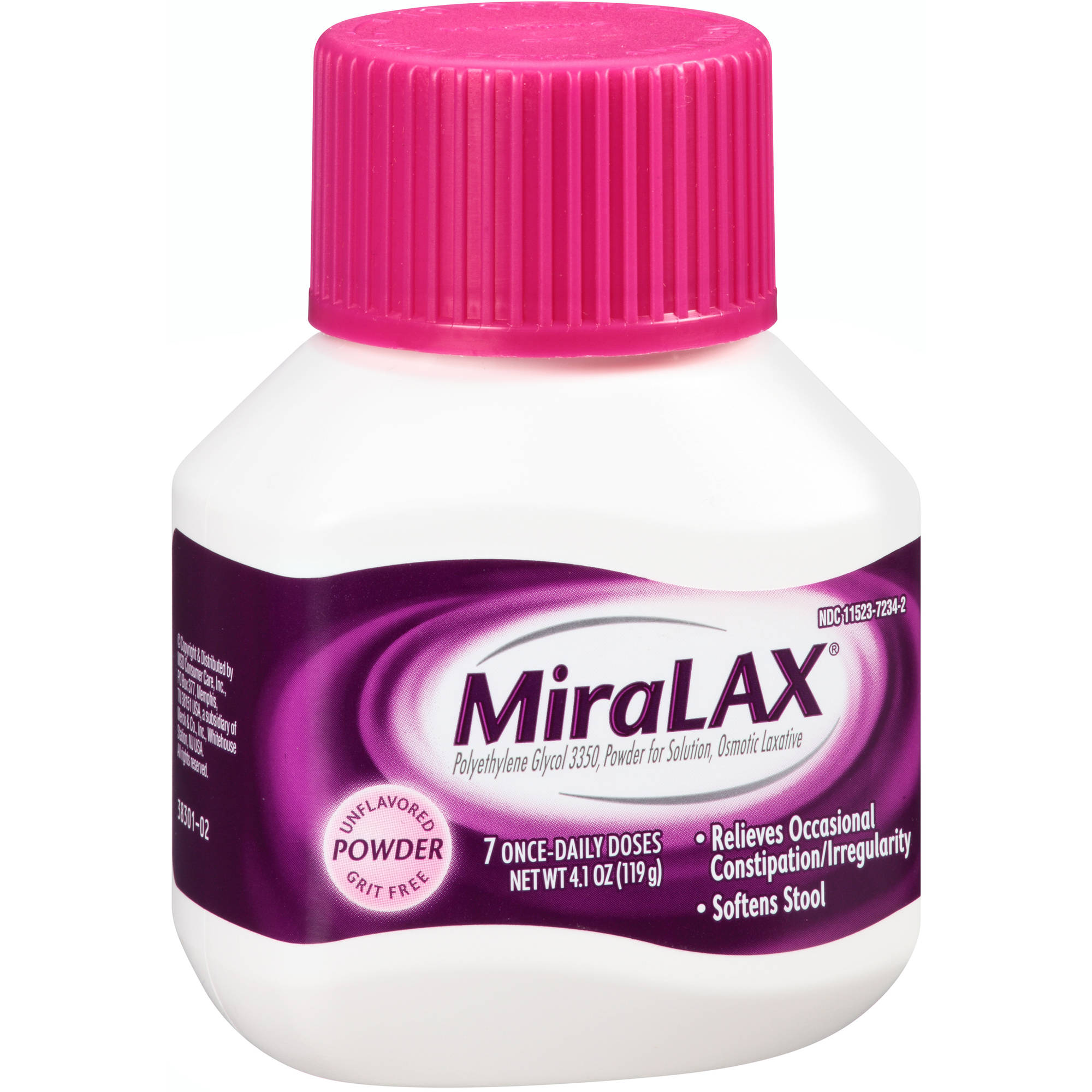 MiraLAX Powder Laxative, 4.1 oz