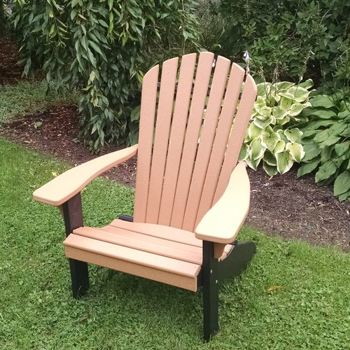 Brayden Studio Risch Plastic Adirondack Chair