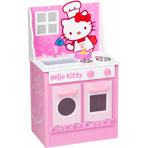 Hello Kitty Classic Kitchen Play Set