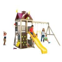 KidKraft Summerhill Wooden Swing Set
