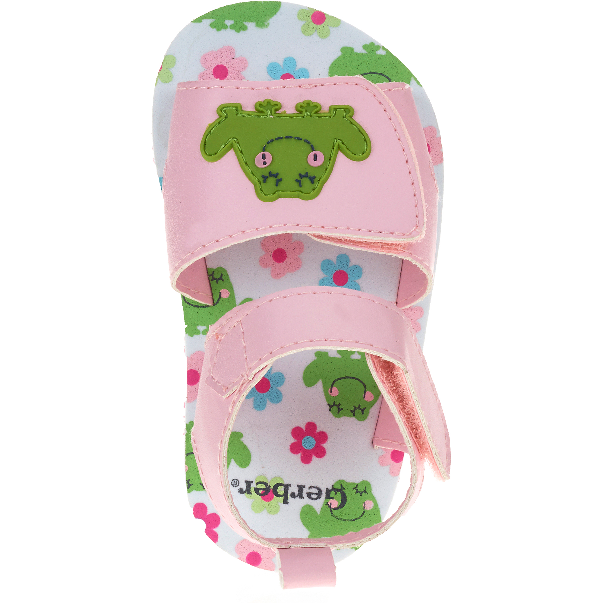 Gerber Baby Infant Girl Frog Sandals