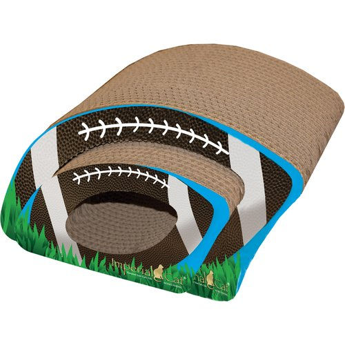 Imperial Cat Scratch 'n Shapes Football Combo Recycles Paper Scratching Board