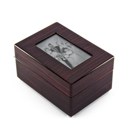 Modern 30 Note X Photo Frame Musical Jewelry Box Walmartcom