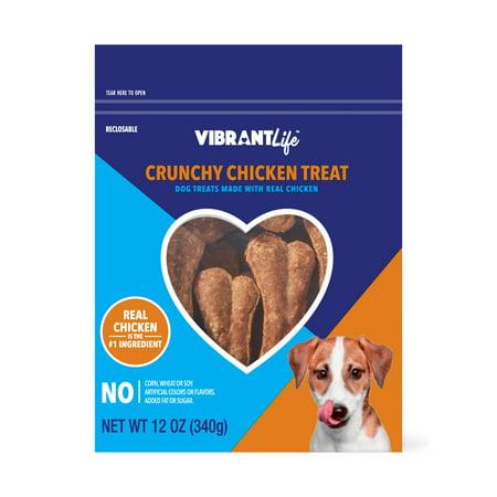 - Vibrant Life Crunchy Chicken Treats, 12 oz