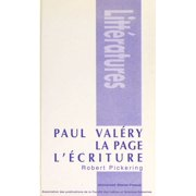 Paul Valéry, la page, l'écriture - eBook