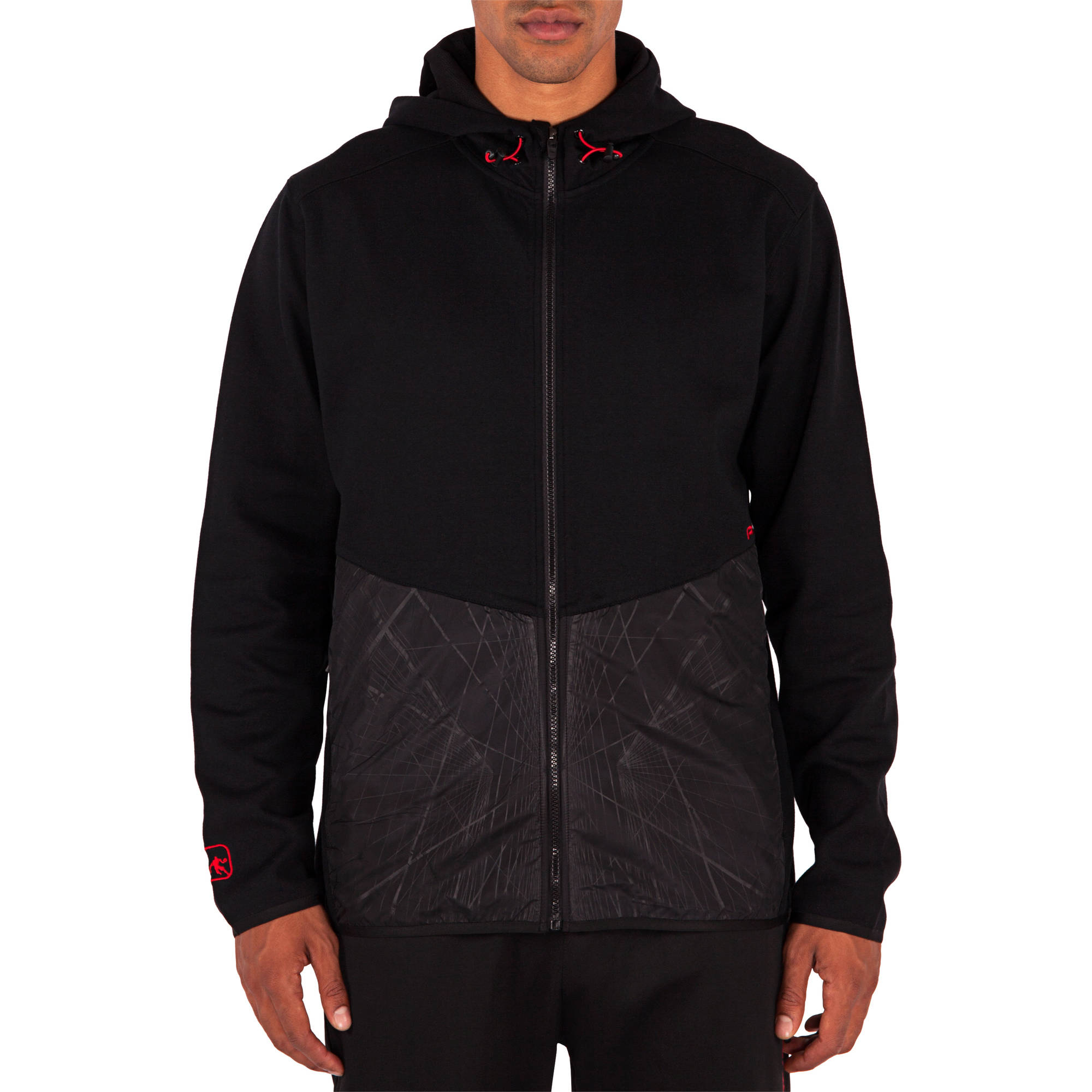 And1 Big Men's Trifecta Performance Tech Hoodie