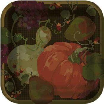 Fall Harvest Dinner Plates (Fall Plates)