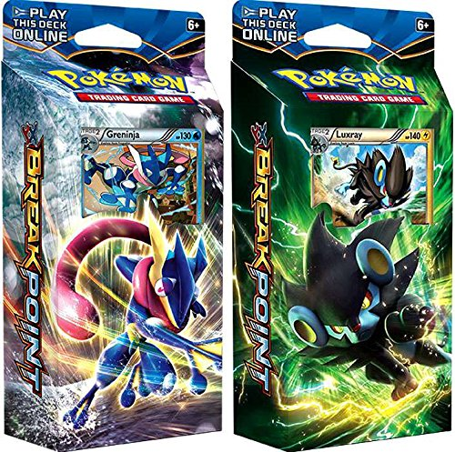 Pokemon TCG: XY9: Breakpoint Both Theme Decks Display