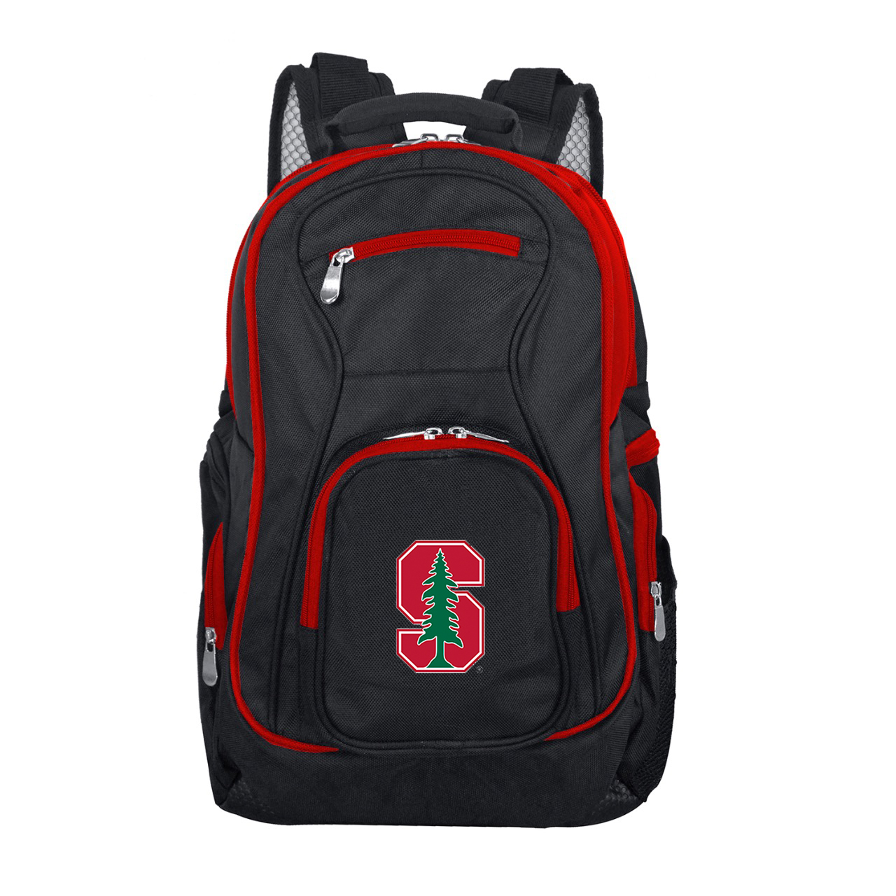 NCAA Stanford Cardinal Premium Laptop Backpack with Colored Trim