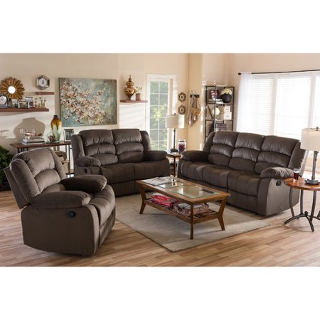 Wholesale interiors baxton studio abele 3 piece living for 6 piece living room set