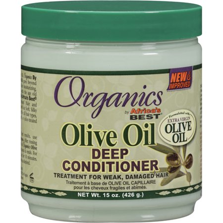 Africa's Best Organics Olive Oil Deep Conditioner, 15 oz