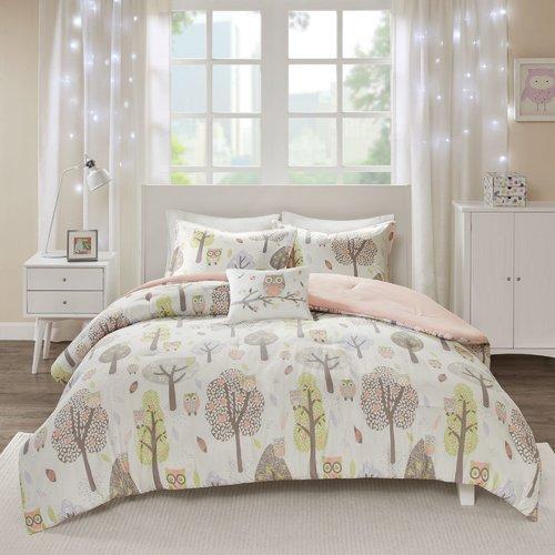 Harriet Bee Glinda Cotton Printed Comforter Set