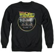 Back To The Future Back Mens Crewneck Sweatshirt