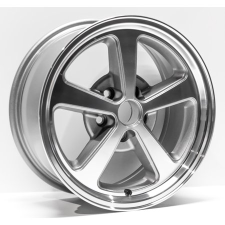 Wheel Charcoal - 2003-2004 Ford Mustang Replacement Wheel 17