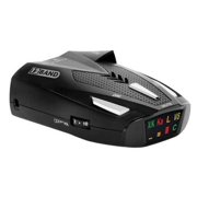 Cobra ESD-777 12 Band Police Cop Laser Detection Radar Detector w/ Safety Alert