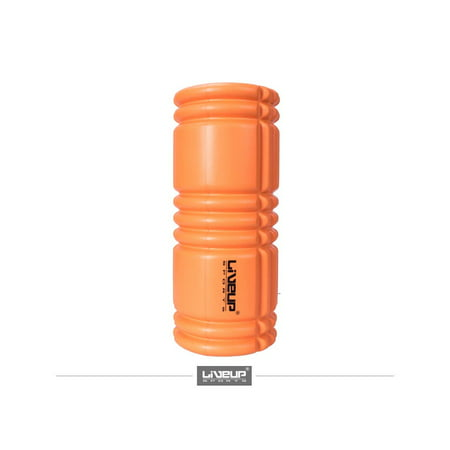 LiveUp Sports Yoga Foam Roller For Exercise, Physical Therapy, Muscle Recovery, Pre and Post Yoga, Trigger Point Massage, Stretching